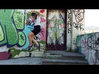 HIP-HOP ШКОЛА А.Т.О.М. Dance танцы в Севастополе для подростков и детей ДАША