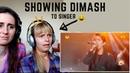 SINGERS FIRST REACTION to DIMASH - SOS
