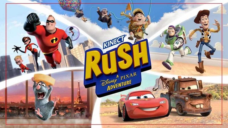 Kinect Rush: A Disney Pixar Adventure Xbox 360 Kinect Review
