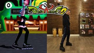 Bust A Groove 2 Live Action Dances   Comet   Tsutomu   Heat