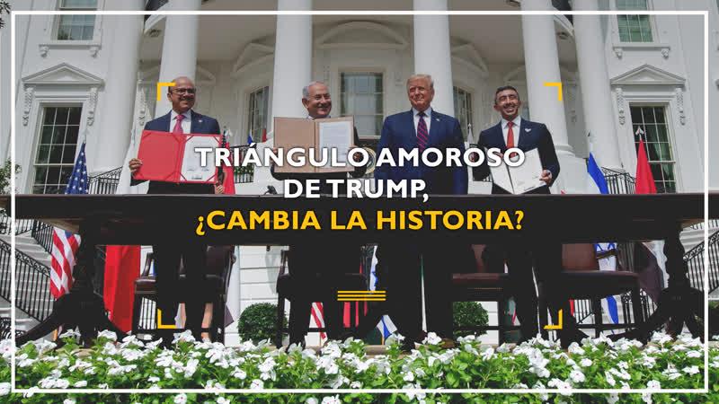 Triángulo amoroso de Trump ¿cambiará la historia