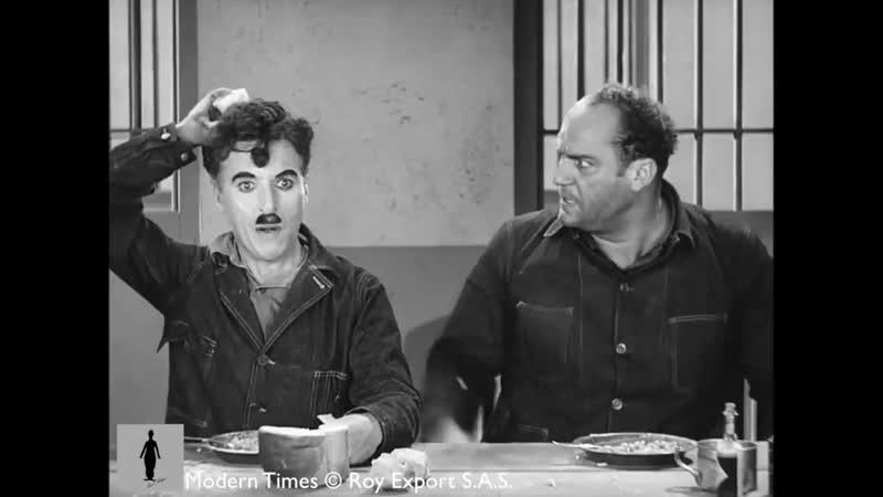 Charlie Chaplin Smuggled Nose Powder Modern Times