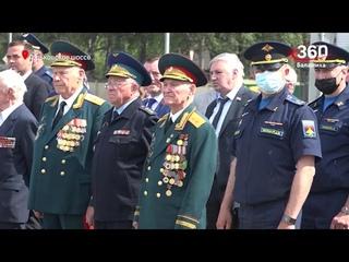 Комплекс ЗРК С-75 установили в Балашихе как памятник защитникам неба Москвы