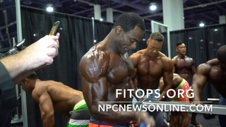 2017 IFBB Men's Physique Olympia Backstage Pt.2