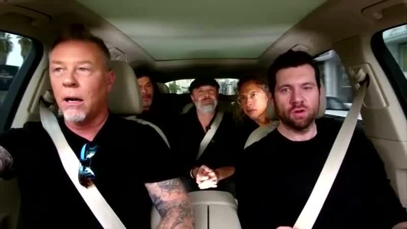 Metallica Carpool Karaoke Billy Eichner S01E03