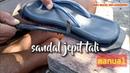 Membuat sandal jepit menggunakan tali
