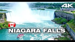 NIAGARA FALLS - CANADA ★ Stunning  Waterfall in 4K★ With ♫ ♬ Calming Music ||► 9 min 🇨🇦
