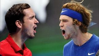 Даниил Медведев vs Андрей Рублев, Зверев vs Чорич, Тим vs Дэ Минаур, ATP Открытый чемпионат США 1/4