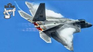 """Музей города N / """"Ворюга""""-истребитель F-22 Raptor"""