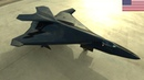 America is developing a pair of two new high-tech fighter aircraft