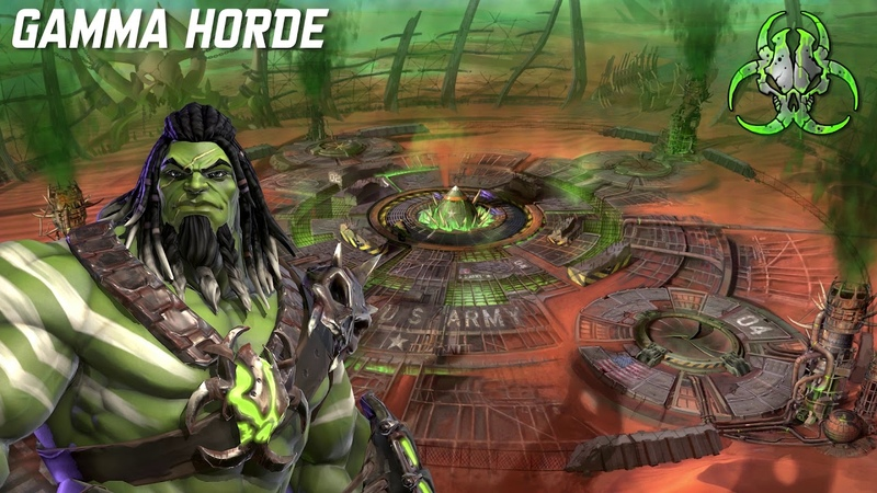 Pledge to Gamma Horde Marvel Realm of Champions