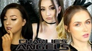 ARIANA GRANDE DON T CALL ME ANGEL CHARLIE S ANGELS COLLAB w Shivonmakeupbiz Makeupbysaz