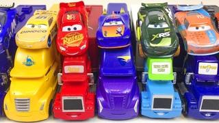 Машинки Тачки Молния МакКуин  & Грузовики Учим Цвета Лучшее Развивающее Видео для Малышей