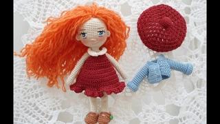 Mini dress crochet / little doll outfit