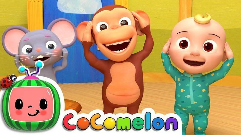 Head Shoulders Knees Toes CoComelon Nursery Rhymes Kids Songs