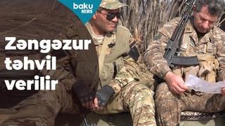 Paşinyanın əmri ilə erməni sərhədçilərindən silahları alınır - Baku TV