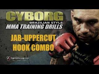 тренировка с легендарным бойцом- cyborg santos training drills