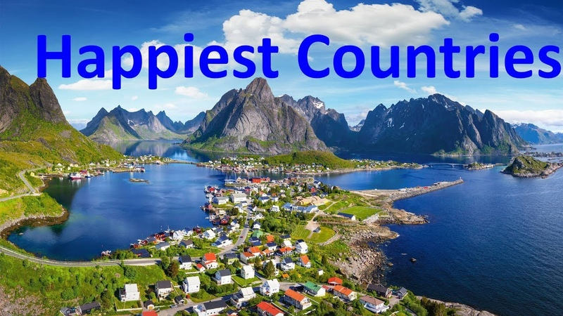 The 10 Happiest Countries To Live In The World Seen as the World's Safest Countries