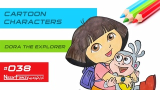 CARTOON CHARACTERS - Dora the Explorer