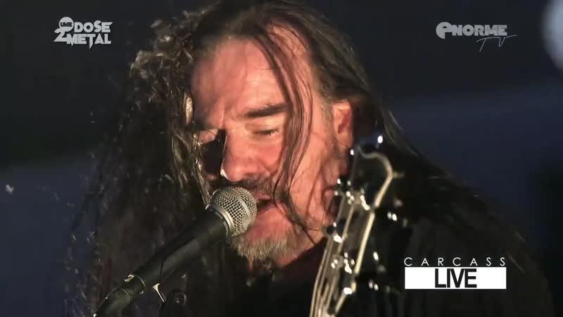 CARCASS Live at Motocultor Festival 2015 Full Show HD