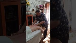 Массаж спины в домашних условиях. Работает массажист   Константинов Максим .