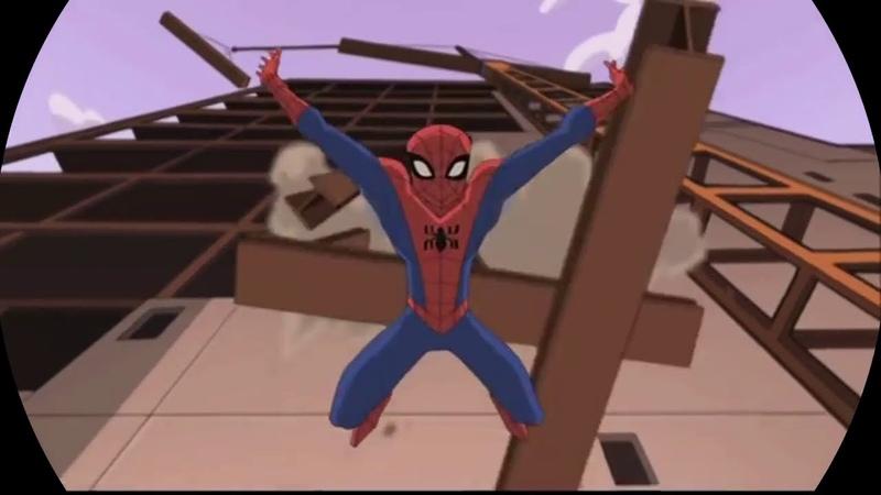 Полная версия заставки Грандиозный Человек паук 2008 года