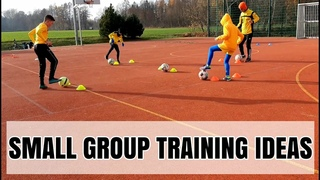 High Intensity Football Training 🔥💪Small Group Training Session