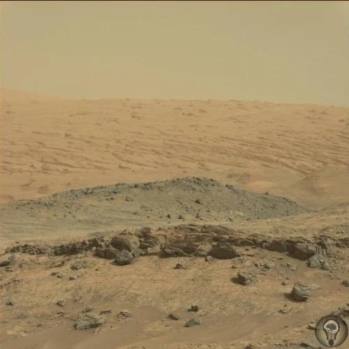 На Марсе нашли причудливые узоры на плитах рядом с пересохшим водоемом