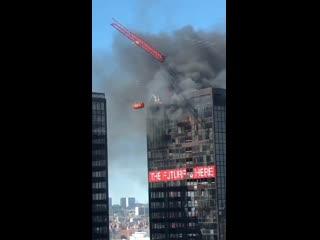 #necro_tv: Пожар во Всемирном торговом центре в Брюсселе