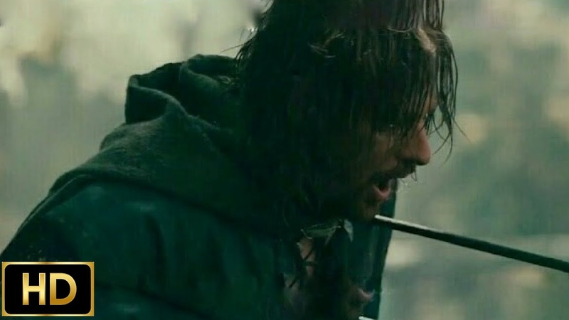 Битва на Амон Хен Смерть Боромира Арагорн против Луртца Властелин Колец Братство Кольца