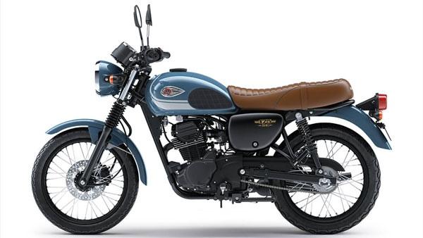 Kawasaki W175 2021 представили в Индии