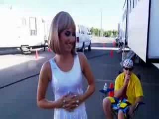 Sweet Revenge: Zac Efron and Vanessa Hudgens get soaked