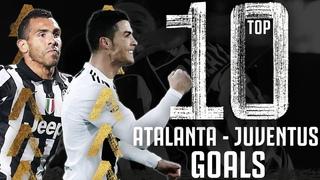 🥅 Top 10 Atalanta - Juventus Goals!   Ft. Ronaldo, Tevez, Higuain, Matri & More!
