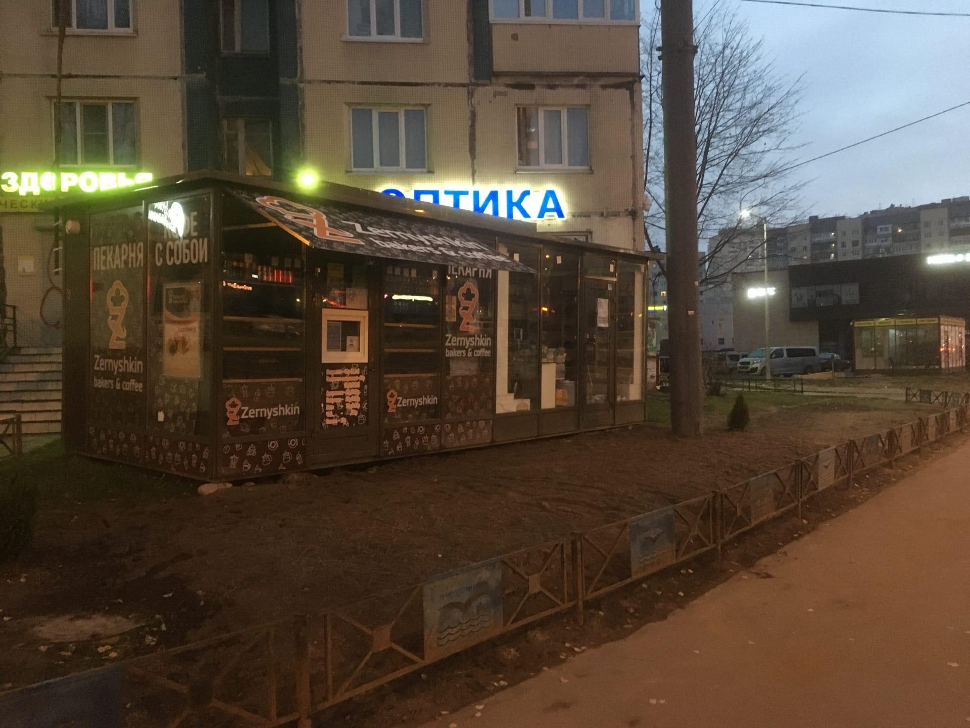 Цед не занимается проблемой незаконных торговых точек в Приморском районе СПб